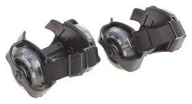 Ролики раздвижные для обуви светящиеся колеса мини