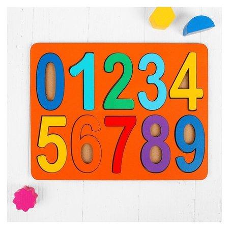 Рамки-вкладыши Цифры макси, высота цифр: 8,5 см  Smile Decor
