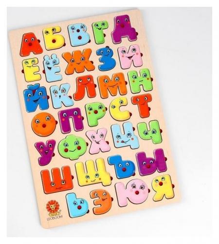 Большая алфавитная доска Веселые буквы   Smile Decor