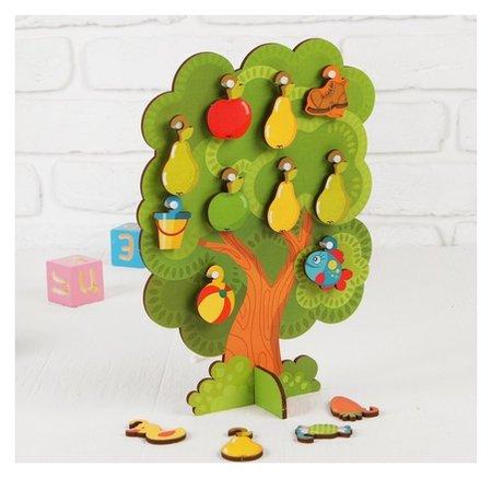 Сортер-дерево Что на дереве растет   Woodlandtoys