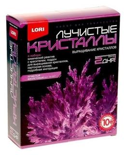 Набор для выращивания кристаллов Фиолетовый кристалл