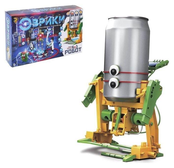 Набор для опытов Робот 6 в 1  Эврики