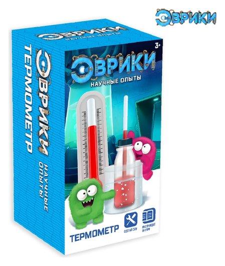 Набор для опытов Термометр  Эврики