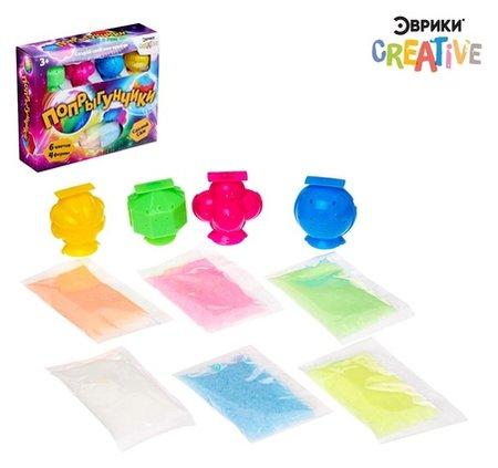 Набор для опытов Попрыгунчики 6 цветов  Эврики