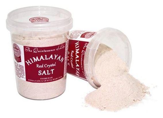 Гималайская красная соль пищевая мелкая  Himalayan Pink Crystal Salt