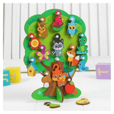 Игрушка с крючками Лесное дерево