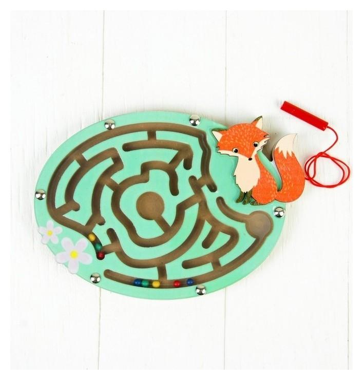 Лабиринт магнитный Лиса   КНР Игрушки