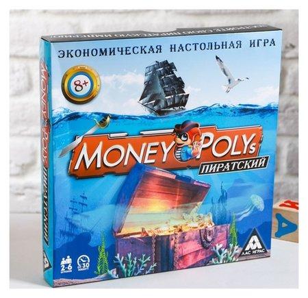 Настольная экономическая игра «Money Polys Пиратский»  Лас Играс
