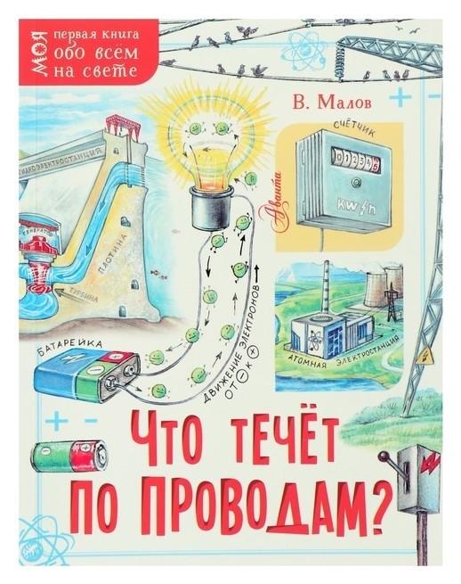 Моя первая книга Что течёт по проводам? Малов В.И.  Издательство АСТ