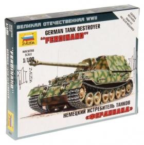 Сборная модель «Немецкая САУ Фердинанд»  Звезда