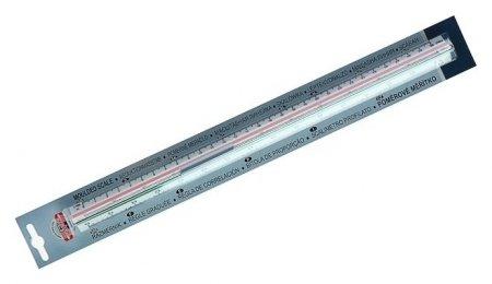 Масштабная линейка, 1:20, 1:25, 1:50, 1:100, 1:200, 1:500  Koh-i-noor