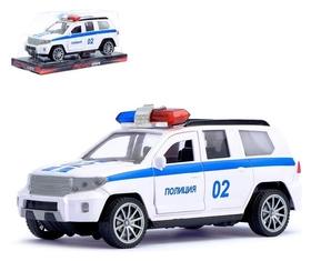 Машина инерционная «Полиция Круизёр» открываются двери