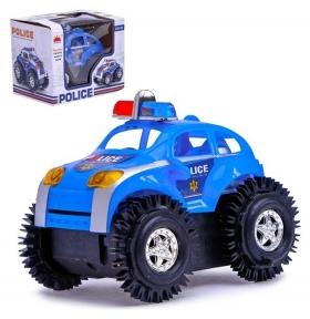 Машина-перевертыш «Полиция» работает от батареек