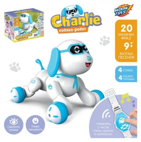 Робот-собака интерактивный Charlie  Woow toys
