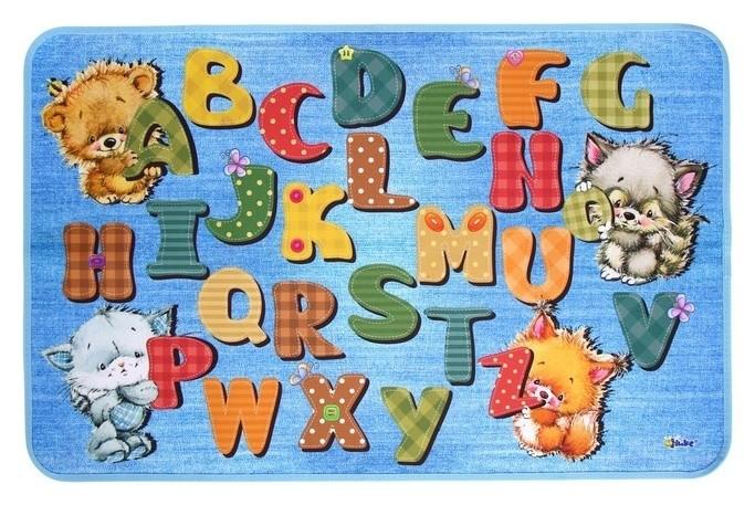 Накладка на стол Алфавит английский Оникс