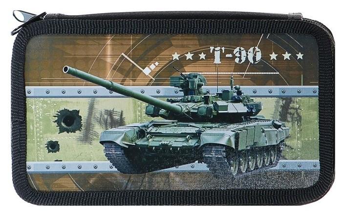 Пенал 3 секции Боевой танк Оникс