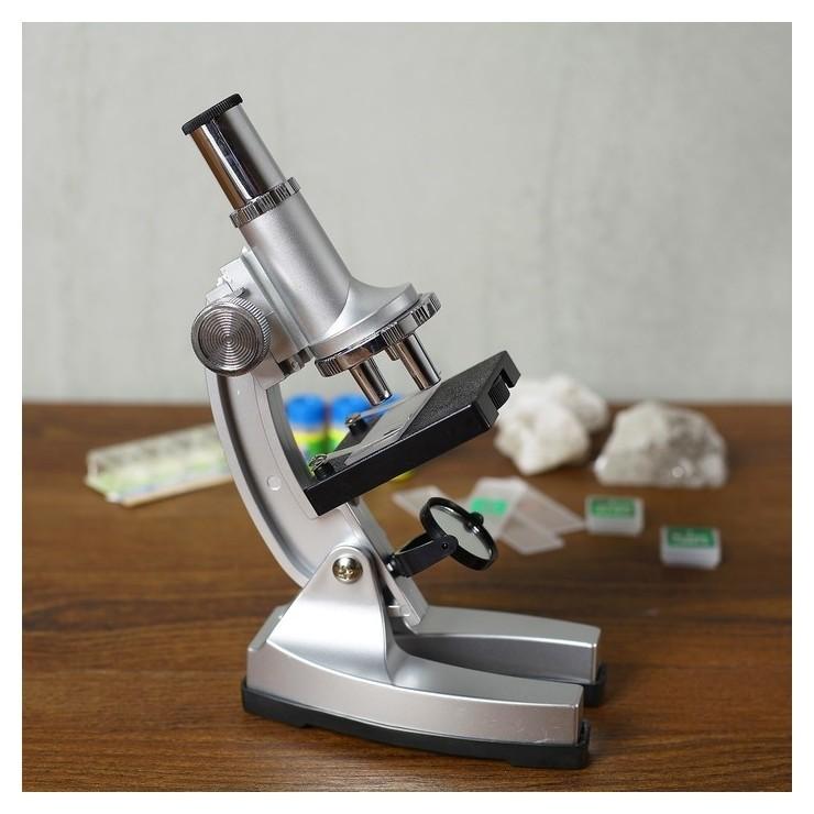 """Микроскоп """"Лаборатория"""" кратность увеличения 450х, 200х, 100х набор для исследований  КНР Игрушки"""