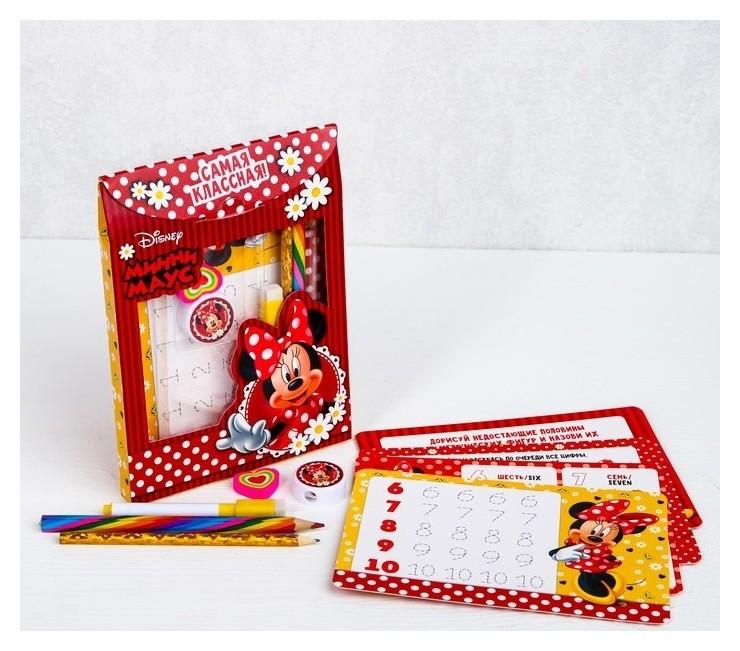 """Письменный набор в рюкзаке-картон """"Минни Маус""""  Disney"""