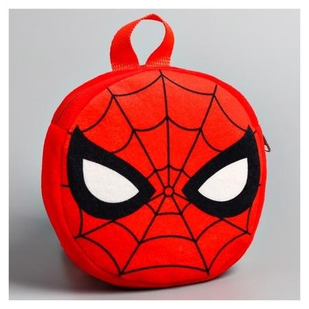 Рюкзак детский плюшевый Человек-паук  Marvel