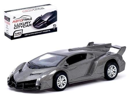 Машина металлическая «Спорткар» инерционная, масштаб 1:43  Автоград