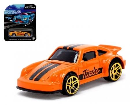 Машина металлическая Hot Cars масштаб 1:64  Автоград