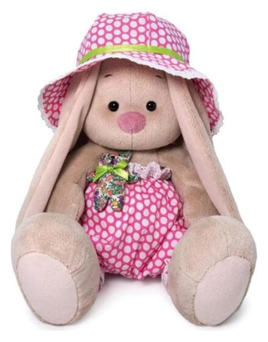 Мягкая игрушка Зайка Ми в шляпе с мишкой  Зайка Ми