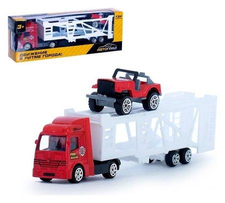 Машина металлическая Автовоз масштаб 1:64  Автоград