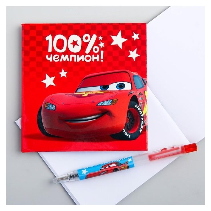 """Блокнот с ручкой """"Тачки""""  Disney"""