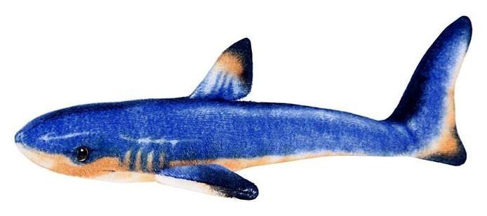 Мягкая игрушка Акула голубая  Абвгдейка