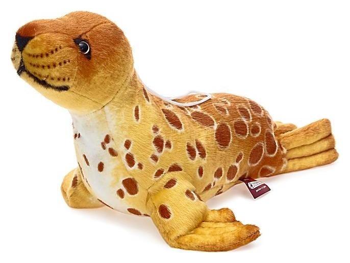 Мягкая игрушка Тюлень Кроха S 35 см  Абвгдейка