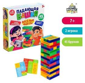 Настольная игра «Падающая башня, Весёлые фанты»
