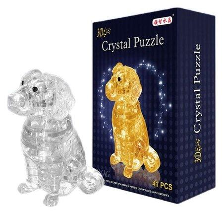 Пазл 3D кристаллический Спаниель 41 деталь  КНР