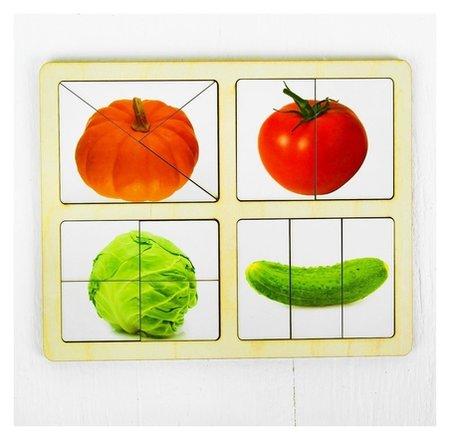 Разрезные картинки Овощи-1  Smile Decor