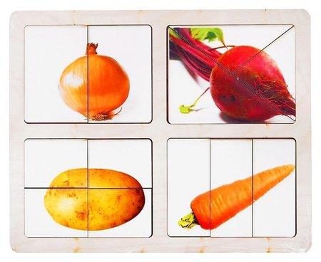 Разрезные картинки Овощи-2  Smile Decor