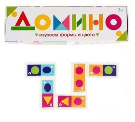 Домино Изучаем цвета и формы