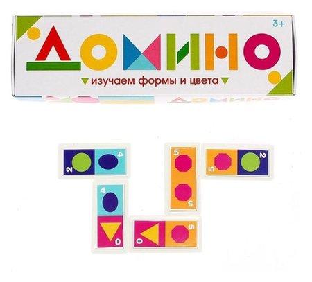 Домино Изучаем цвета и формы  Iq-zabiaka