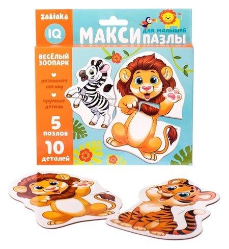 Макси-пазлы Весёлый зоопарк  Iq-zabiaka
