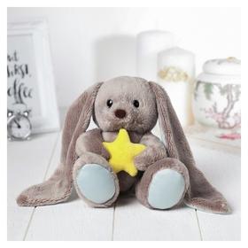 Мягкая игрушка заяц Lu мечтатель