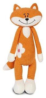 Мягкая игрушка Лисичка с цветочком 33 см