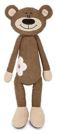 Мягкая игрушка Медвежонок с цветочком 33 см  Maxitoys