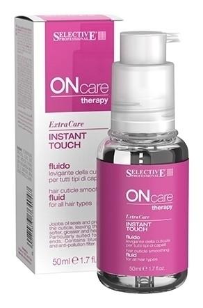 Флюид для разглаживания кутикулы всех типов волос Therapy Instant Touch Fluid  Selective Professional