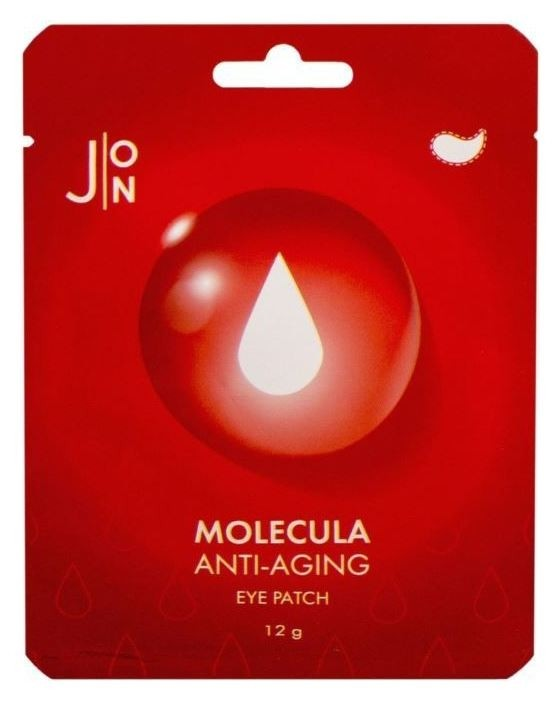 Патчи для кожи вокруг глаз Molecula Anti-aging Eye Patch  J:ON