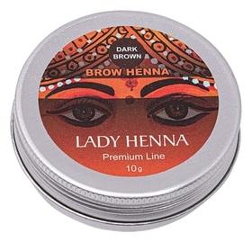 Краска для бровей на основе хны Premium Line Lady Henna