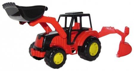 Трактор-экскаватор  Полесье
