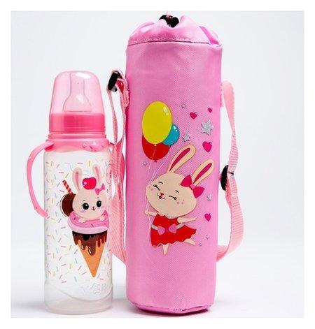 Термосумка для бутылочки 250мл Зайка Полли  Mum&baby