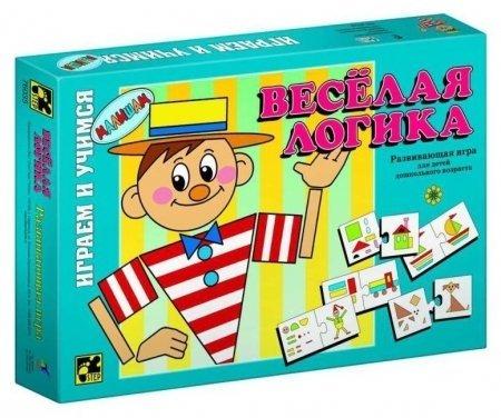Игра настольная Веселая логика  Step puzzle