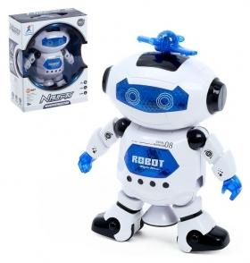 Робот Космический герой световые и звуковые эффекты, работает от батареек