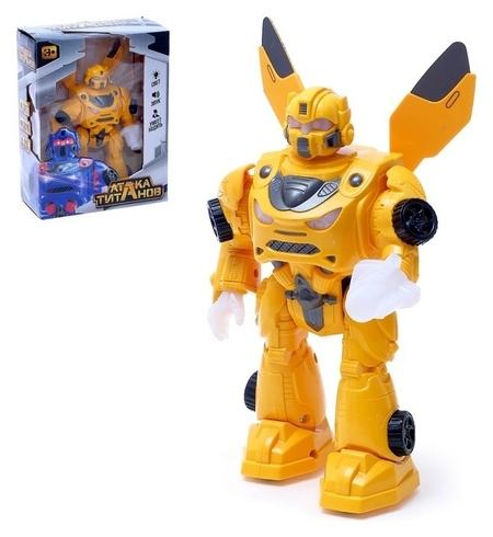 Робот Автобот, ходит, световые и звуковые эффекты  Woow toys