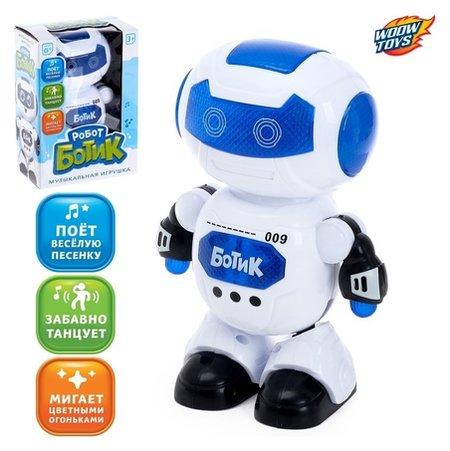 Робот Ботик музыкальный, танцует, русский звуковой чип, световые эффекты Woow toys
