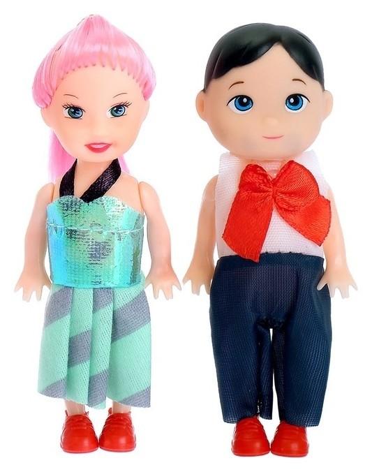 Куклы-малышки Люба и Гриша  КНР